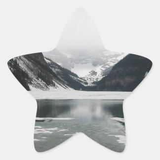 Sticker Étoile L'extrémité de l'hiver, Lake Louise