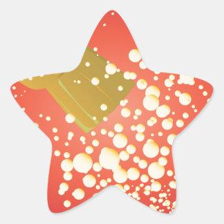 Sticker Étoile Liège de vol