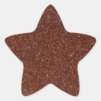 Sticker Étoile Macro photo de verre de Goldstone