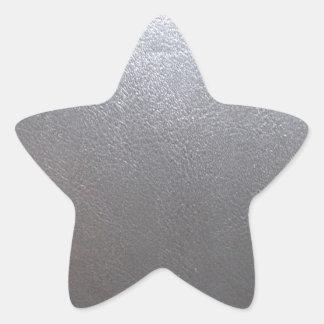 Sticker Étoile MODÈLE en cuir d'étincelle : Ajoutez le texte,