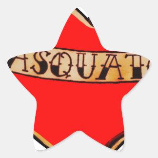 Sticker Étoile Mon coeur appartient au sasquatch