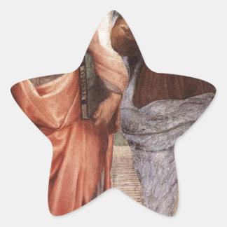 Sticker Étoile Platon et Aristote