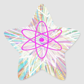 Sticker Étoile Puissance d'âme : Conception artistique à énergie