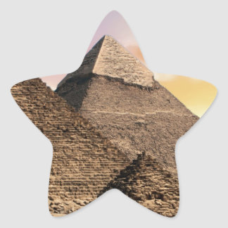 Sticker Étoile pyramides