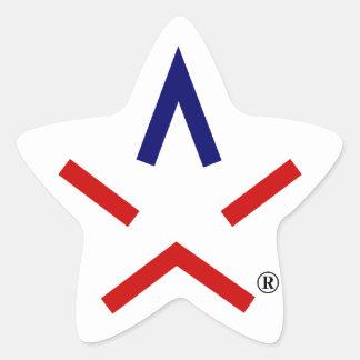 Sticker Étoile REMERCIEZ l'autocollant d'aSTARisk de TEXAS™