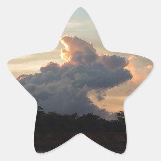 Sticker Étoile Requin de nuage