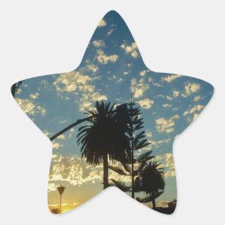 Sticker Étoile Santa Barbara la Californie