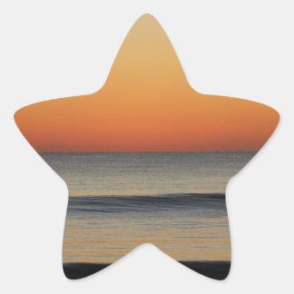 Sticker Étoile Vagues dans vous horizon