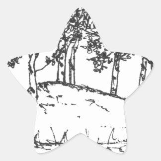 Sticker Étoile Verger d'Aspen