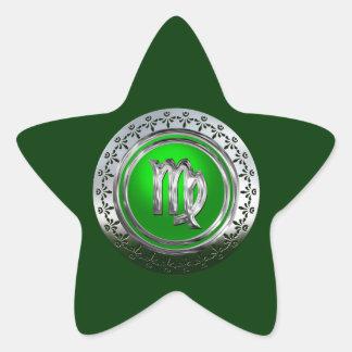 Sticker Étoile Vierge | le premier Glyph d'astrologie
