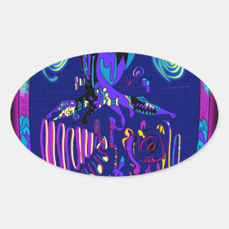 Sticker Ovale Andrei