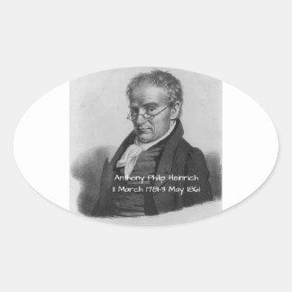 Sticker Ovale Anthony Philip Heinrich