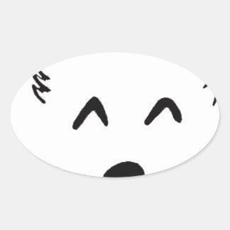 Sticker Ovale Baby dog