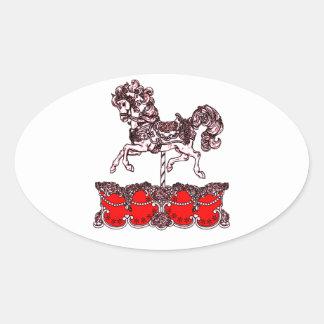Sticker Ovale Carrousel