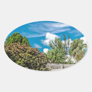 Sticker Ovale Cimetière de St Georges