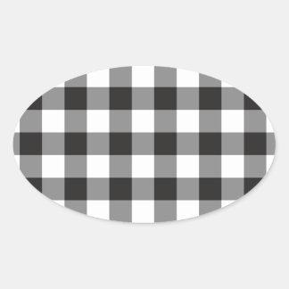 Sticker Ovale géométrique