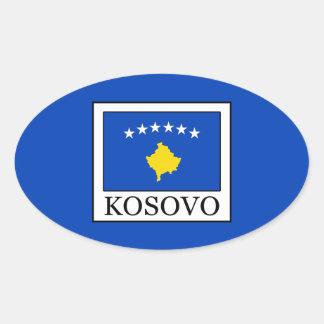 Sticker Ovale Kosovo