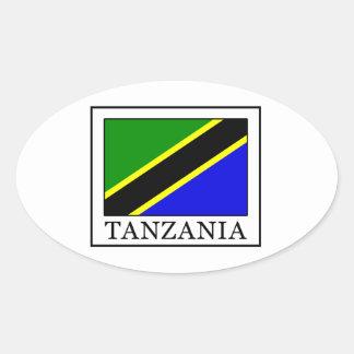 Sticker Ovale La Tanzanie