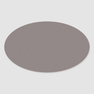 Sticker Ovale Le blanc de modèle ajoutent votre gris élégant des