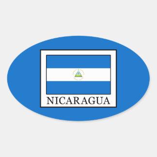 Sticker Ovale Le Nicaragua