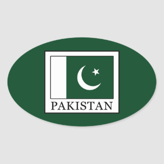 Sticker Ovale Le Pakistan