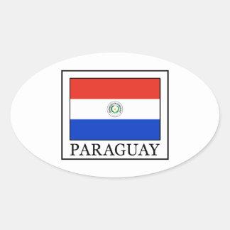 Sticker Ovale Le Paraguay
