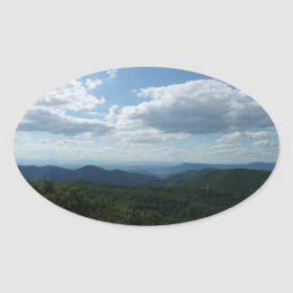 Sticker Ovale Les Appalaches II Shenandoah