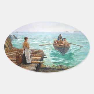 Sticker Ovale Les Cornouailles 1895