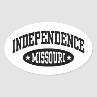 Sticker Ovale L'indépendance Missouri