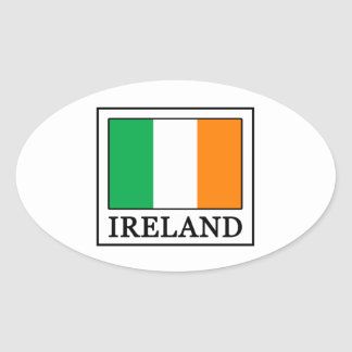 Sticker Ovale L'Irlande