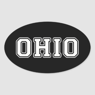 Sticker Ovale L'Ohio