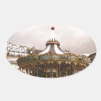 Sticker Ovale Manège