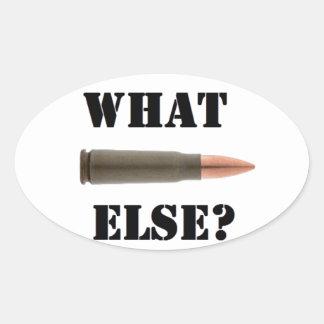 Sticker Ovale Munition 7.62x39