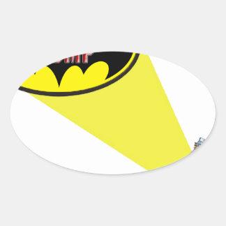 Sticker Ovale Oncle Sam