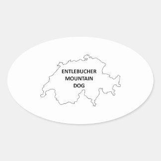 Sticker Ovale origine outline.png d'entlebucher
