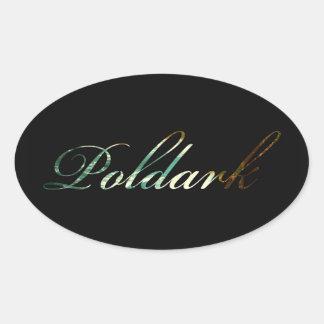 Sticker Ovale Poldark