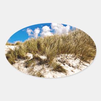 Sticker Ovale Sonnerie sable Dune of Denmark
