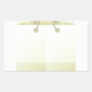 Sticker Rectangulaire 82Paper Bag_rasterized de achat