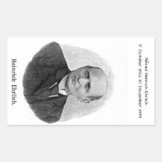 Sticker Rectangulaire Alfred Heinrich Ehrlich