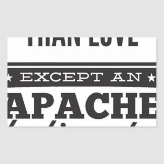 Sticker Rectangulaire Apache