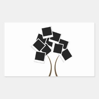 Sticker Rectangulaire arbre