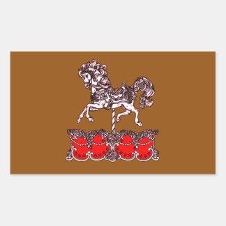 Sticker Rectangulaire Carrousel