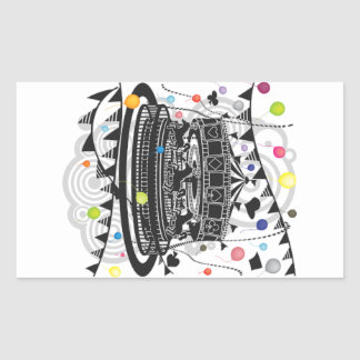 Sticker Rectangulaire Carrousel
