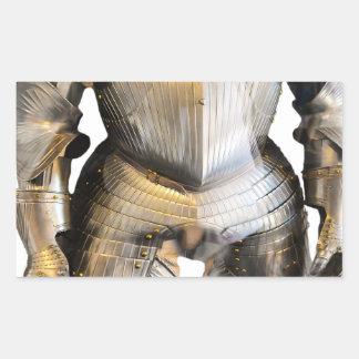 Sticker Rectangulaire chevalier #2