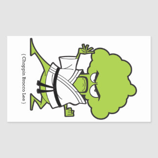 Sticker Rectangulaire Choppin_Brocco_Lee_Tee