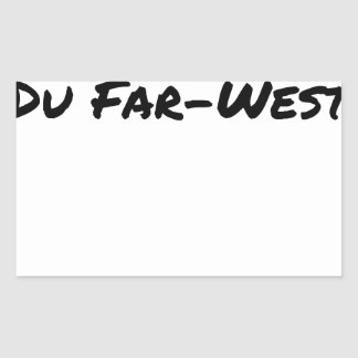 Sticker Rectangulaire Cobol (Du Far-West) - Jeux de Mots- Francois Ville