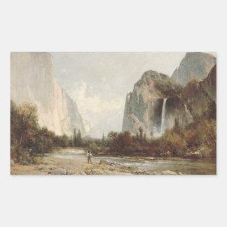 Sticker Rectangulaire Colline de Thomas - Yosemite, automnes nuptiales