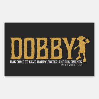 Sticker Rectangulaire Économies Harry Potter de ratière de Harry Potter