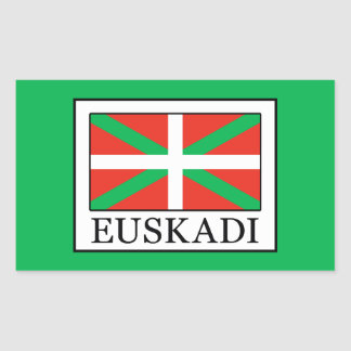 Sticker Rectangulaire Euskadi
