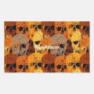 Sticker Rectangulaire Halloween